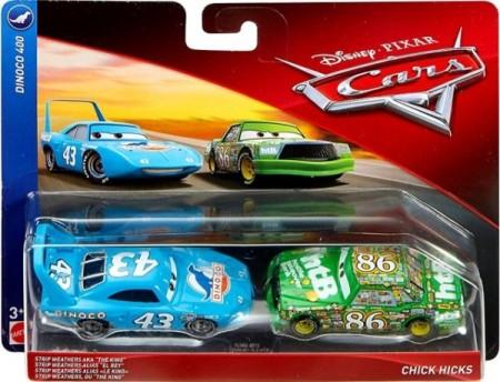 CARS (Auta) - The King + Chick Hicks