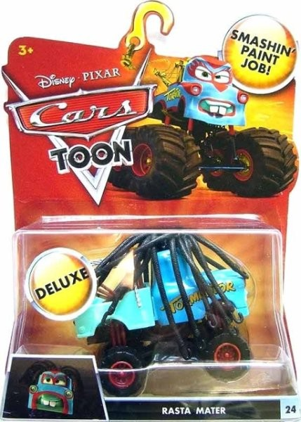 CARS TOON (Auta - Burákovy povídačky) - Rasta Mater