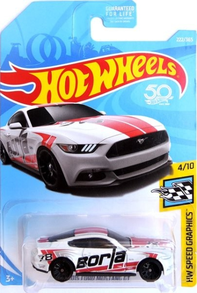 HOT WHEELS - 2015 Ford Mustang GT