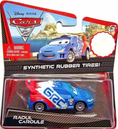 CARS 2 (Auta 2) - Raoul Caroule Rubber Tires (gumová kolečka)