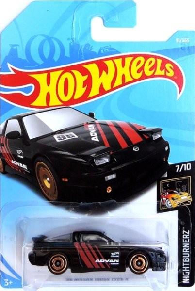 HOT WHEELS - 96 Nissan 180 SX TYPE X (Black)