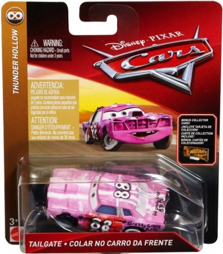 CARS 3 (Auta 3) - Tailgate Nr. 88 + sběratelská karta na stojánku