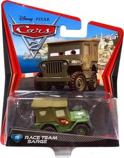 CARS 2 (Auta 2) - Race Team Sarge (Serža) - poškozený obal