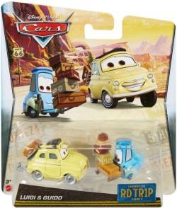 CARS 2 (Auta 2) - Luigi + Guido Road Trip