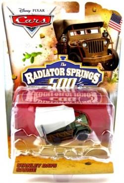 CARS TOON (Auta - Burákovy povídačky) - Stanley Days Sarge (Radiator Springs 500 1/2)