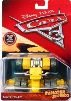 CARS 3 Deluxe (Auta 3) - Scott Tiller - mírně poškozený obal