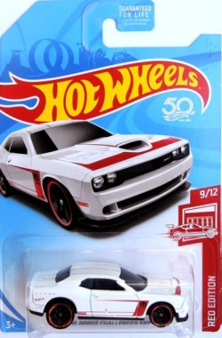 HOT WHEELS - 15 Dodge Challenger SRT