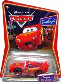 CARS (Auta) - Tongue McQueen (Blesk s vyplazeným jazykem) SUPERCHARGED