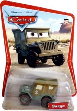 CARS (Auta) - Sarge (Serža) - SBĚRATELSKÝ - 1. SÉRIE