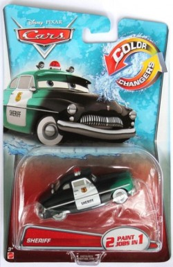 CARS 2 (Auta 2) - Color Changers Sheriff