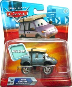 CARS DELUXE (Auta) - Leroy Traffik with Snow Tires