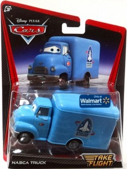 CARS 2 - Nasca Truck (Take Flight)