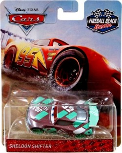 CARS 3 (Auta 3) - Sheldon Shifter Nr. 92 Fireball Beach