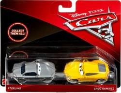 CARS 3 (Auta 3) - Sterling + Cruz Ramirez (Cruz Ramirézová)