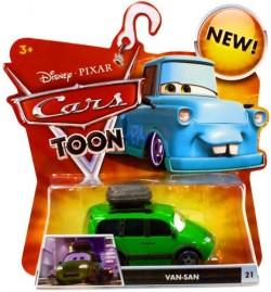 CARS TOON (Auta - Burákovy povídačky) - Van-San