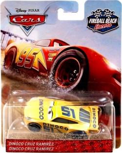 CARS 3 (Auta 3) - Dinoco Cruz Ramirez Nr. 51 (Cruz Ramirézová) Fireball Beach