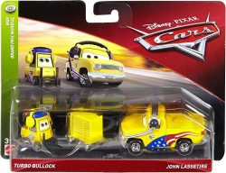 CARS 3 (Auta 3) - Turbo Bullock + John Lassetire