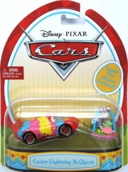 CARS (Auta) - Easter Lightning McQueen (velikonoční Blesk) - pouze pár kusů SKLADEM