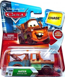 CARS (Auta) - Mater with Oil Can (Burák s plechovkou oleje) LOOK CHASE