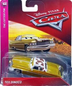 CARS 3 (Auta 3) - Tex Dinoco - přelepený obal