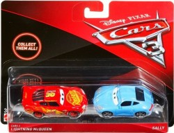 CARS 3 (Auta 3) - Lightning McQueen (Blesk) + Sally