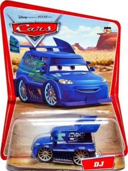 CARS (Auta) - DJ - SBĚRATELSKÝ - 1. SÉRIE