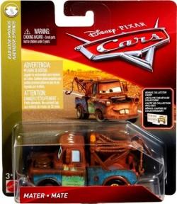 CARS 3 (Auta 3) - Mater (Burák) + sběratelská karta na stojánku