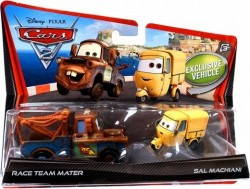 CARS 2 (Auta 2) - Race Team Mater (Burák) + Sal Machiani