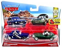 CARS 2 (Auta 2) - Brent Mustangburger + David Hobbscapp with Headset (se sluchátky)