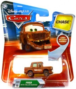 CARS (Auta) - Fred with Fallen Bumper LOOK CHASE